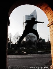 Twio X   Parkour photo by Adelina Horn