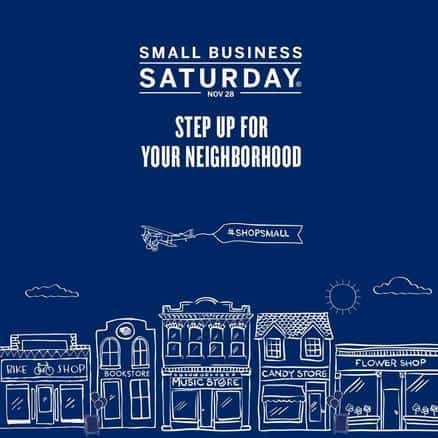 2015 Small Business Saturday - the Saturday after Thanksgiving