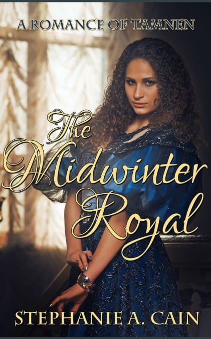 The Midwinter Royal book cover by Stephanie A. Cain