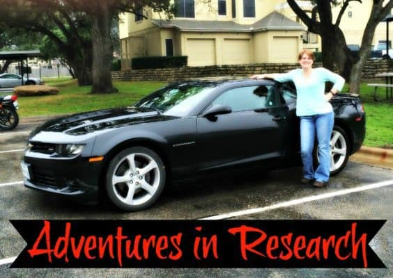 Adventures in Research: Driving a Dream Car