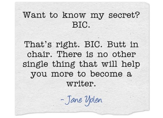 How Jane Yolen beats writer's block