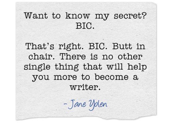 How Jane Yolen beats writer's block