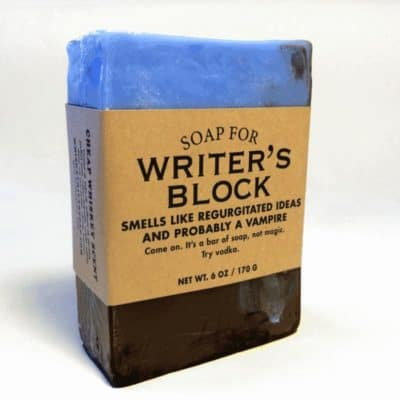 Writers Block soap