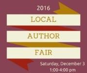 Carmel Clay Public Library Local Author Fair banner