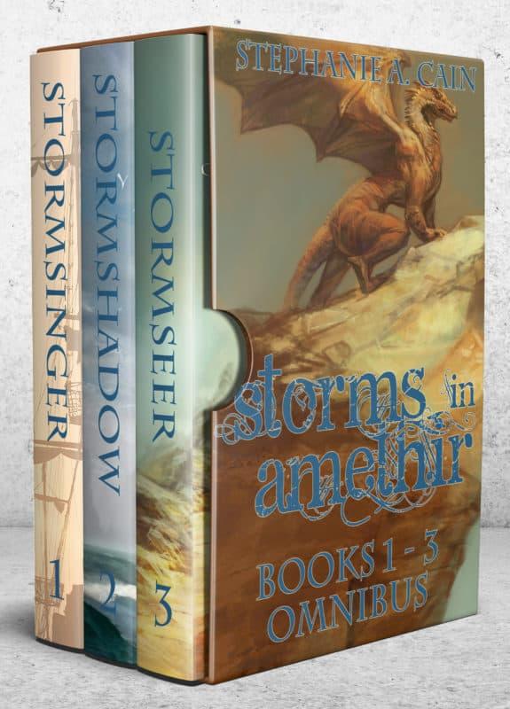 Storms in Amethir Books 1 – 3 Omnibus