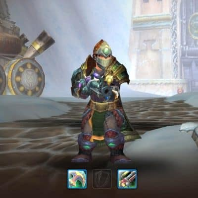 Screenshot of Treelynis, a dwarven hunter from the MMORPG World of Warcraft